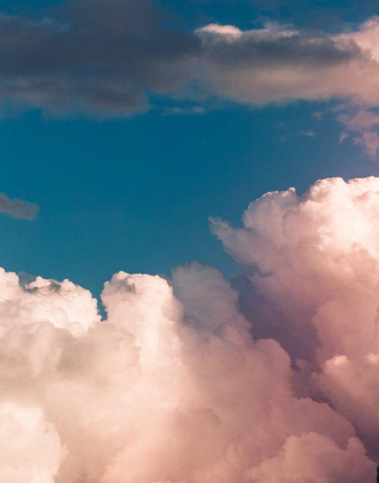 cloud aesthetic wallpaper